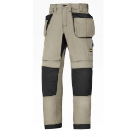 SNICKERS pantalon de travail lite work 37.5 avec poche holster