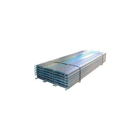 PLANCHER ECHAFAUDAGE ACIER 3.00m X 0.365m